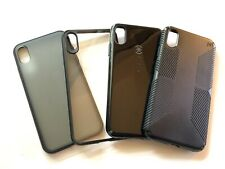 Apple Iphone XS Max Case 4 Each Lot Excellent Condition Speck, Incipio