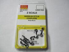 Micro-Trains Stock # 00204010 #907 Marklin Style Couplers Body Mount (Z Scale)