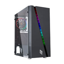 CASE ATX PC GAMING 1 VENTOLA DUAL HALO SLIM RGB ADDRESSABLE 1 STRIP LED ADD-RGB