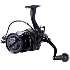 Large Spinning Fishing Reel 12+1 Bearing 5.1:1 Gear Ratio 10kg Drag Beast Black