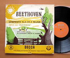 LXT 2872 Beethoven Symphony no. 6 Pastoral Erich Kleiber NM/EX Decca (no stereo)