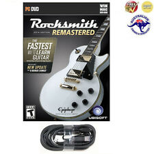 Rocksmith 2014 Remastered (PC/Mac) + Real Tone Cable: Brand New + Free Shipping