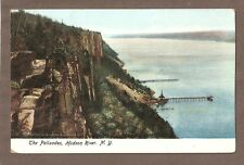 Vintage Postcard Unused The Palisades Hudson River New York