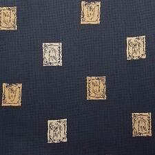 Kasto - Tela de tapicería y decoración - Por metro (color azul marino)