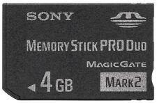Sony 4GB Memory Stick Pro Duo Mark2, London