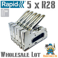 5 x Rapid R28 Hand Cable Tacker / Stapler for WHOLESALE