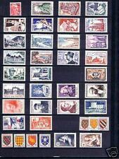 FRANCE STAMP ANNEE COMPLETE 1954 NEUVE xx LUXE , 40 TIMBRES , VALEUR: 323€  B291
