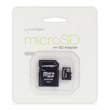 Unirex 4GB MicroSD Card Class 4 with USB Reader and SD Adaptor