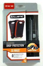 SX1183-A065  BALLISTIC HTC One Mini/M4 SG Maxx Case (Black), Retail