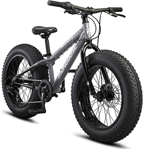 Mongoose Argus and Argus ST Kids/Youth/ Fat Tire Mountain Bike, 20 Inch Wheel