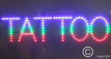 QUALITY  FLASHING  TATTOO beauty led new window shop signs