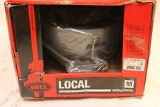 Bell Local Helmet Adult MEDIUM 55-59cm Titanium/Black Reflective Bike Skate BMX