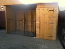 dog kennel and run made to your own requirements.