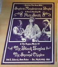 PATTI SMITH 1981 Original Concert Poster