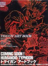 TRIGUN Art Book Illustration Yasuhiro Nightow Anime Manga Artbook Japan japanese