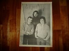 More details for genesis turn it on again 1980 full page press advert poster size  37/26cm