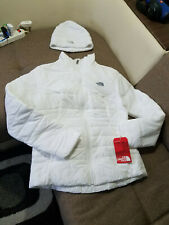 north face jacket womens + hat