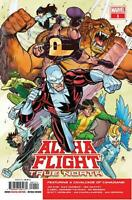 Alpha Flight True North #1 Main Cover Marvel Comics 2019