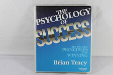 The Psychology of Success: 10 Proven Principles 6-Cassette Study Course ~ Tracy