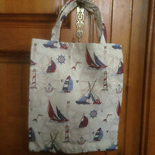 SAC CABAS A OUVRAGE LAINE TRICOT COUTURE