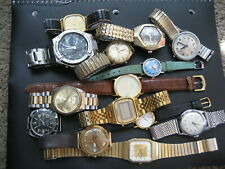 Lot of 14 Watches for Repair, Parts, or in Need of Battery