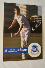 Cricket - Australia-VCA Kleenex Large Photocard - Print Signature -Paul Jackson