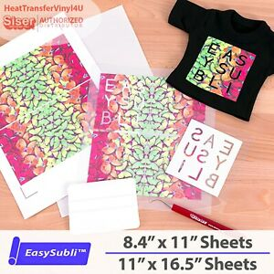 EasySubli Sublimation HTV by Siser - Select Size and Quantity **FREE SHIPPING**