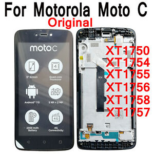 For Motorola Moto C XT1750 XT1754 XT1755 XT1756 XT1757 LCD Display Touch Screen