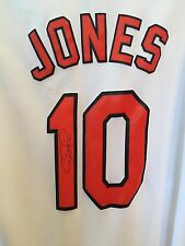 Adam Jones Signed Jersey Baltimore Orioles All Star Gold Glove