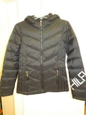 NEW -WOMENS TOMMY HILFIGER LOGO QUILTED PACKABLE PUFFER...