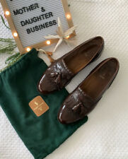 Polo 11 1/2 D Kiltie Tassel Loafers Made in England Rare Style Vintage Bag Inclu