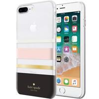 Kate Spade New York Case iPhone 8+ 7+ 6+ & 6s+ PLUS  Cream/Blush/Gold Foil/Black
