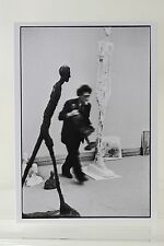 ALBERTO GIACOMETTI, 1960 by HENRI CARTIER-BRESSON  Art-Postcard  NEW