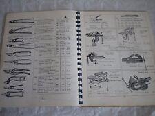 Vintage catalogue 1962 L Fleury Tools and hardware woodwork padlocks planes etc