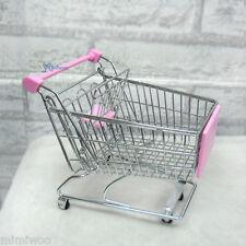 Blythe Obitsu Momoko DAL Pullip 1/6 Bjd Miniature Toys Mini Shopping Cart L Pink