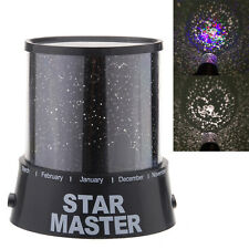 Cupid Romatic Cosmos Star Master Projector LED Starry Night  Light Lamp Kid
