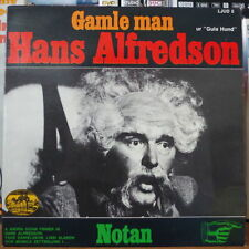 HANS ALFREDSON GAMLE MAN SWEDEN PRESS EP SVENSKA LJUD