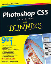 NEW Photoshop CS5 All-in-One For Dummies by Barbara Obermeier