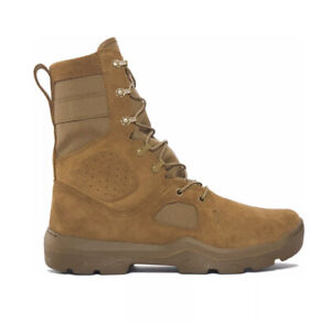 """Under Armour UA FNP Tactical Military Boots 1287352-728 Coyote 8"""" AR670 Size 13"""
