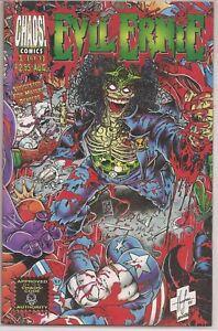 °EVIL ERNIE vs THE SUPER HEROES 1 (of 1)° Chaos Comics 1995 Pulido/Palmiotti