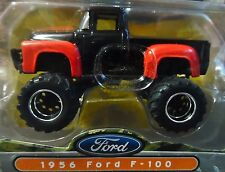 JADA 56 1956 FORD F-100 PICKUP TRUCK BIGTIME 4 WHEELIN AUTH DETAILED COLLECTIBLE