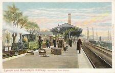 Barnstaple Town Railway Station Photo. Lynton & Barnstaple Railway and L&SWR (1)