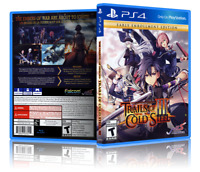 The Legend of Heroes: Trails of Cold Steel III - Custom PS4 Cover&Case.NO GAME!