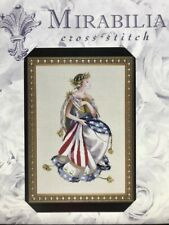 Queen of Freedom by Mirabilia MD-64 Cross Stitch Pattern Retired Patriotic