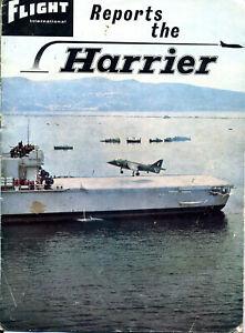 Hawker Harrier GR1 supplement Flight International 1967 free p&p UK
