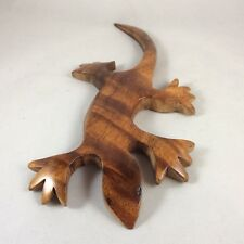 """Hawaiian Geico Made Of Curly Koa With Excellent Detail :10"""" W By 1/2"""" T By 5"""" D"""