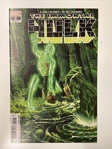 Immortal Hulk #2 **1st appearance of Dr. Frye**