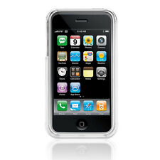 Crystal Clear Hard Shell Case Cover + Cloth & Screen Protector for iPhone 3G 3GS
