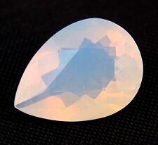 TOP : Echter Weißer Feuer Opal 9,51 Ct VVS Reinheit mit Orange Flash aus Mexiko