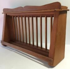 Wooden Kitchen Plate Holders